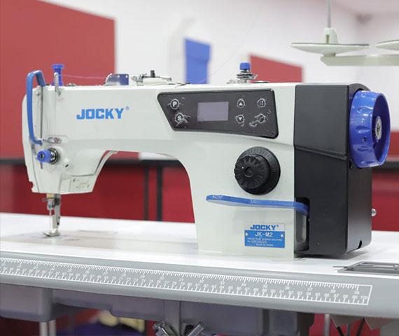 طريقة تركيب ماكينة الخياطة جوكي الصناعي